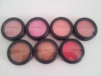 MAC Blushes - Packaging