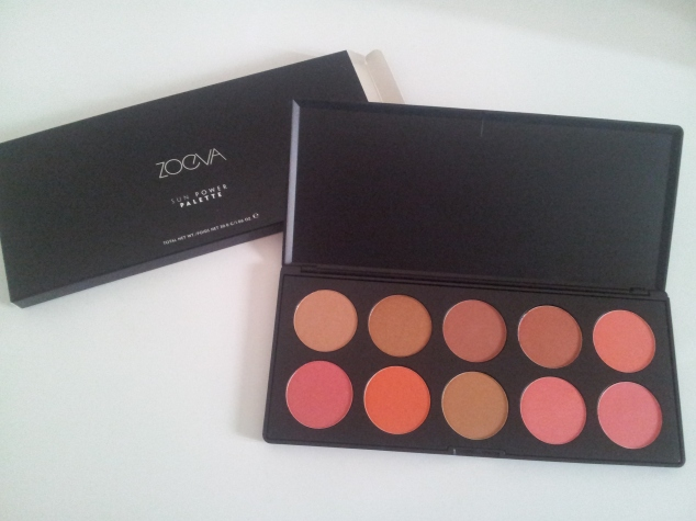 Zoeva Sun Flower Blush Palette
