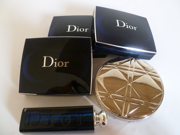 Dior Skin Nude Tan, Dior Addict Pink Empress, Dior Blush Rose Bud, Dior Stylish Move & Dior Pearl Glow
