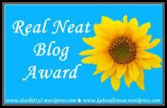 The Real Neat Blogger Award