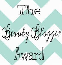 The Beauty Blogger Award