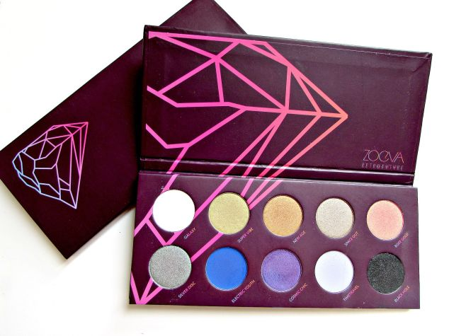 Zoeva's 'Retro Future' Eye Shadow Palette