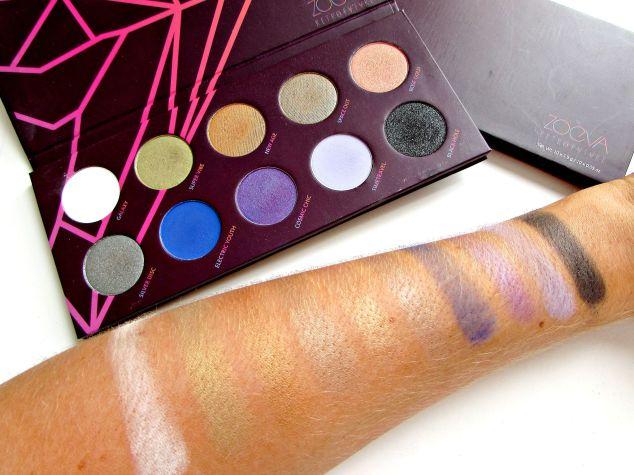 Zoeva's 'Retro Future' Eye Shadow Palette