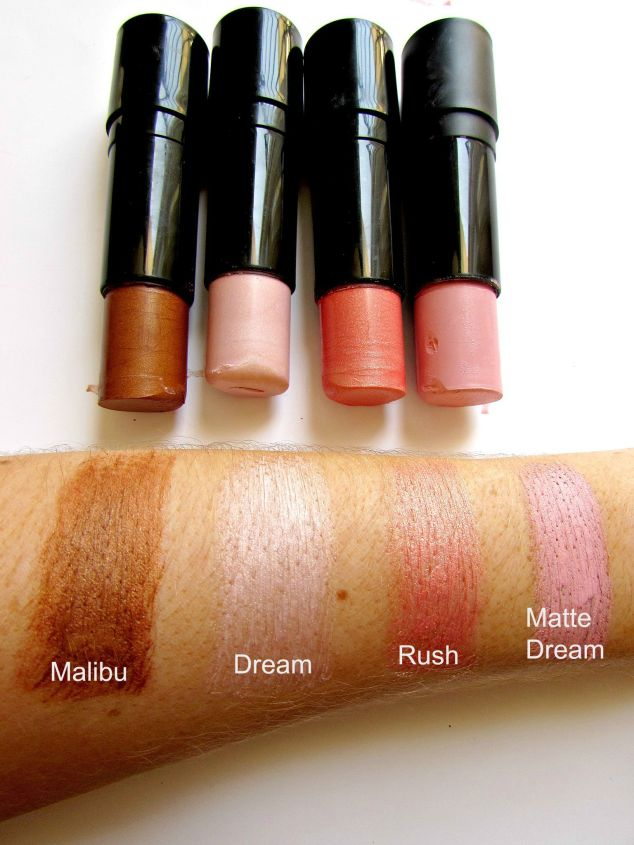 Make Up Revolution's Lip & Cheek Sticks
