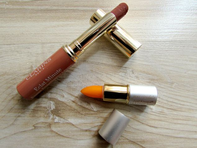 Clarins Lip Balm Perfector and Jane Iredale Lip & Cheek Stain
