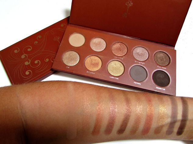 Zoeva's 'Rose Golden' Eye Shadow Palette