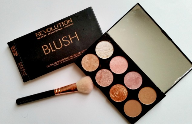Make Up Revolution Blush Palette Golden Sugar